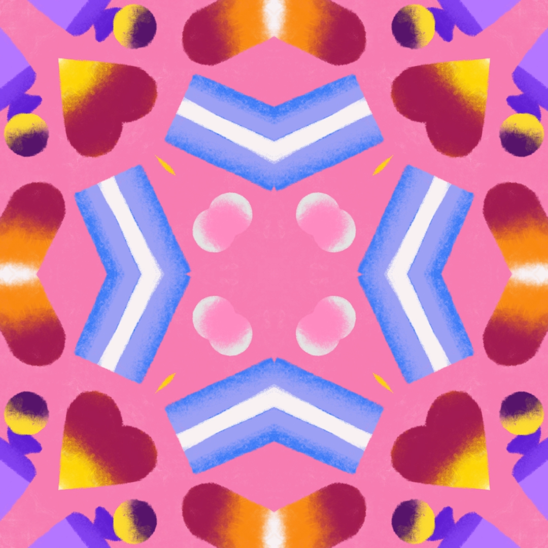 kaleidoscope of sweets